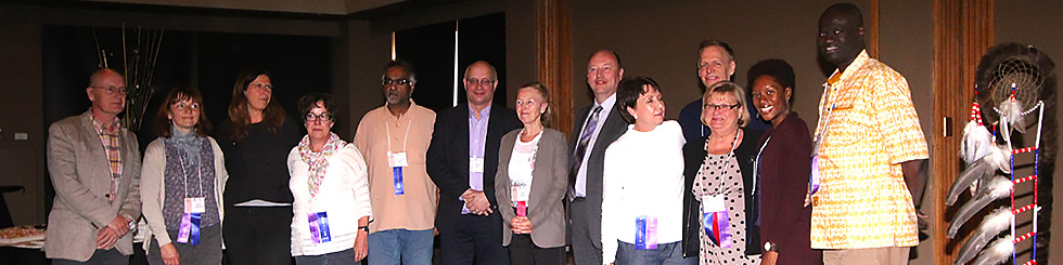 IASWG Board Members at the 2014 Symposium in Calgary, Canada